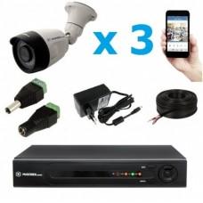 Комплект видеонаблюдения уличный MT-5.0AHD-PC3 (2,8мм)