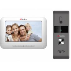 HiWatch DS-D100K комплект видеодомофона с вызывной панелью