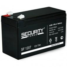 Аккумуляторная батарея Security Force SF1207