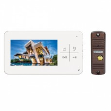 Tantos LUMI kit комплект видеодомофона с вызывной панелью