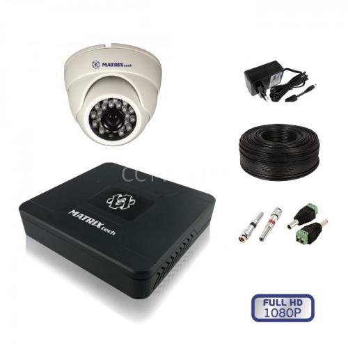 Комплект видеонаблюдения внутренний MT-1080ND1
