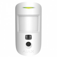 Ajax MotionCam (white) датчик движения с фотокамерой для подтверждения тревог