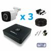 Комплекты видеонаблюдения на 3 камеры