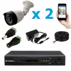 Комплект видеонаблюдения уличный MT-5.0AHD-PC2 (3,6мм)