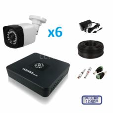 Комплект видеонаблюдения уличный MT-1080NC6