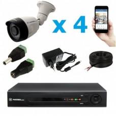 Комплект видеонаблюдения уличный MT-5.0AHD-PC4 (3,6мм)